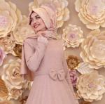 Gamze Özkul 2017 tesettür elbise