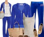Mavi spor tesettür kıyafet