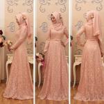 Annahar dantelli kına elbisesi