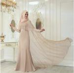 Pınar Şems pelerinli 2017 abiye
