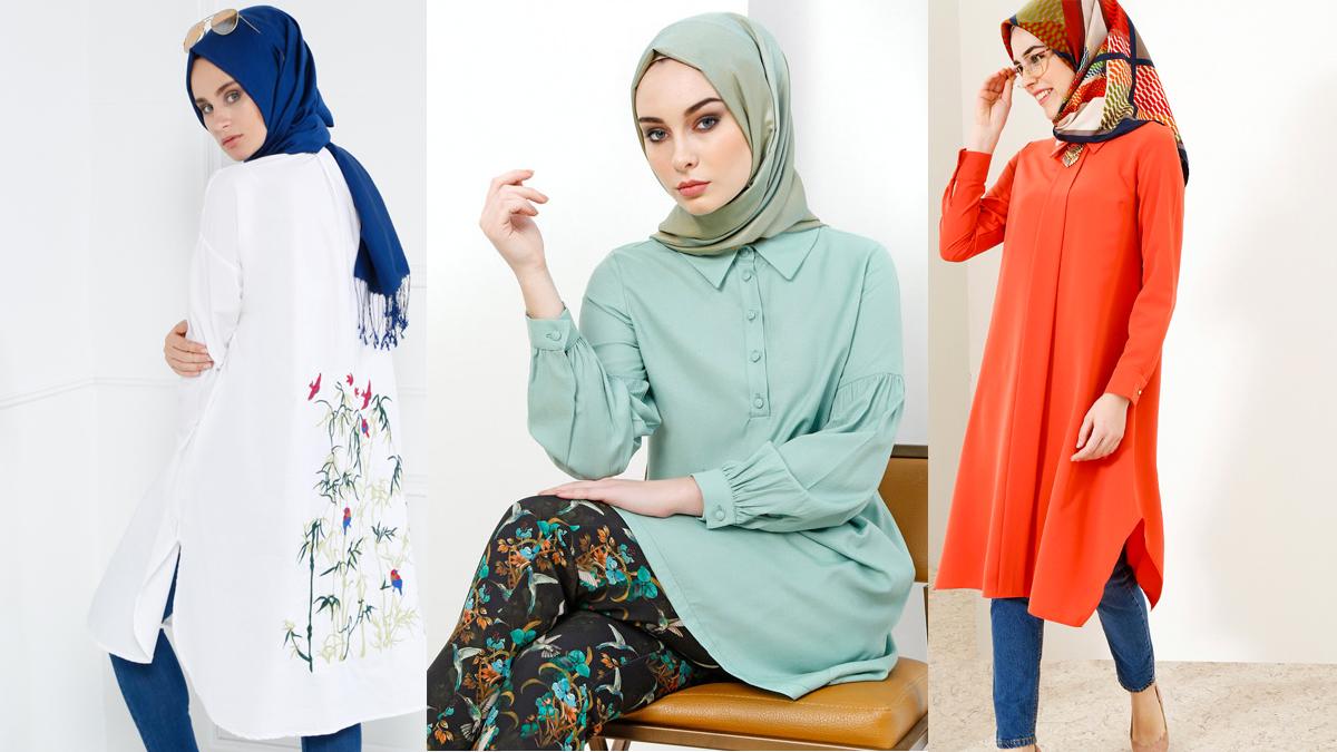 3c63b86798597 Tesettür Giyimin İçinizi Isıtacak 2018 İlkbahar/Yaz Trendleri