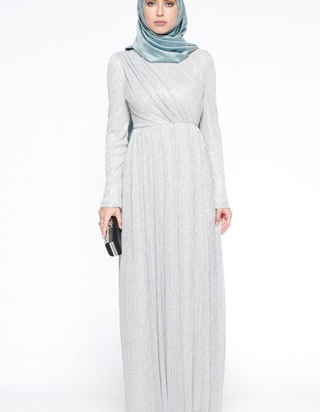 Yazlık simli elbise