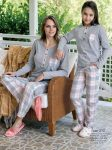 anne kız pijama kombini